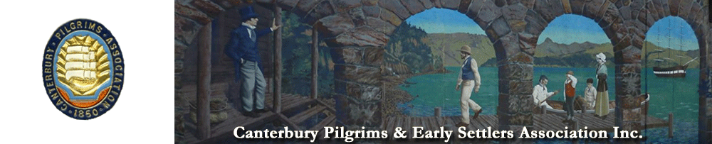 Canterbury Pilgrims & Early Settlers Association Inc.
